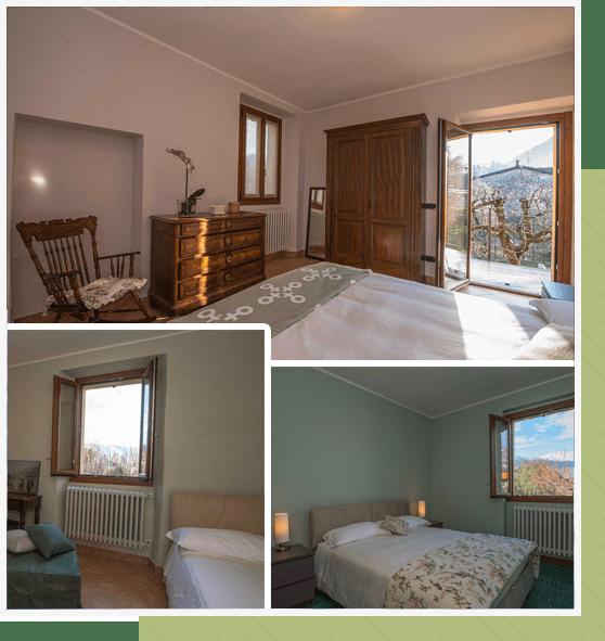 Bedrooms - Villa Olivee Bellagio