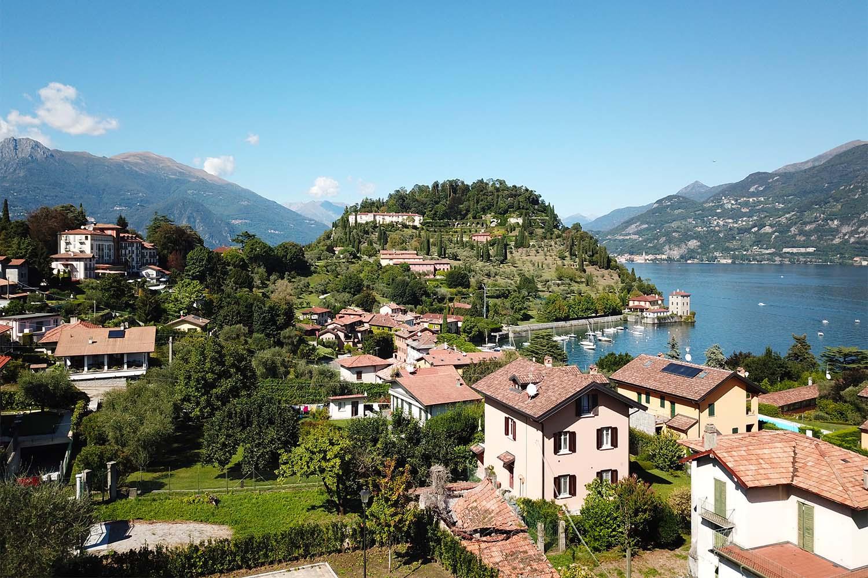 Aerial view -  Villa Olivee Bellagio